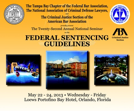a study on federal sentencing guidelines Proposed 2017 amendments to sentencing guidelines  of the march 2016 study and its mandate to reduce federal prison overcrowding, the commission has recommended.